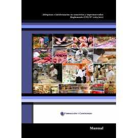 Manual ALÉRGENOS E INTOLERANCIAS EN COMERCIOS Y SUPERMERCADOS REGLAMENTO (UE) Nº 1169/2011