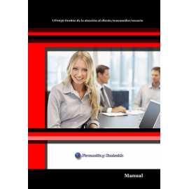 Manual. UF0036 Gestión de la atención al cliente/consumidor/usuario