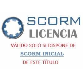 Scorm 1.2.  Licencia. Word y Excel 2019